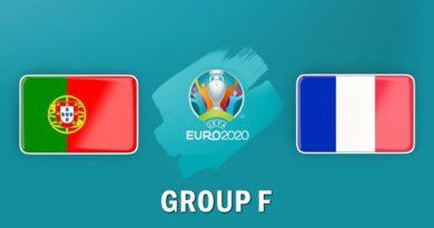 Portugal vs France UEFA Euro 2020 Live, 24 June 2021