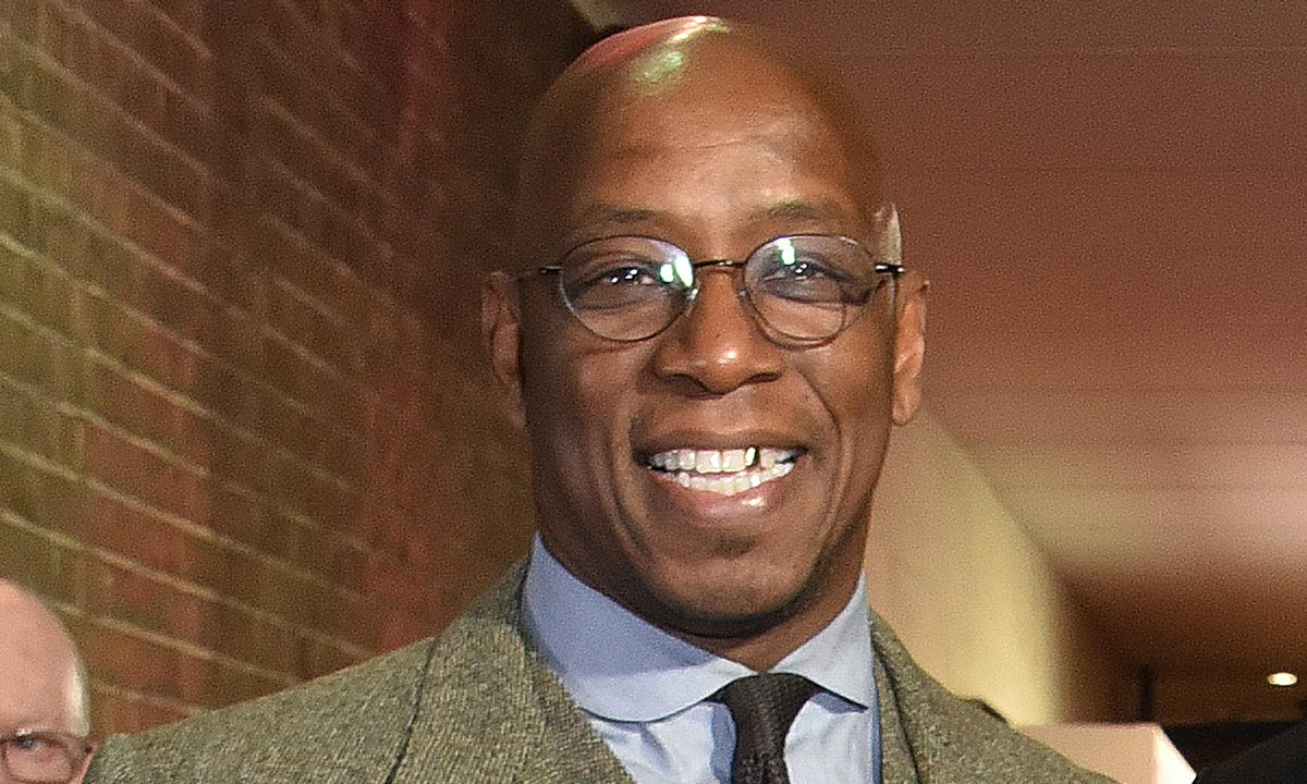 Ian Wright is in the picture